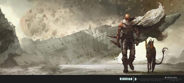 Nuevo concept art del futuro film de Riddick
