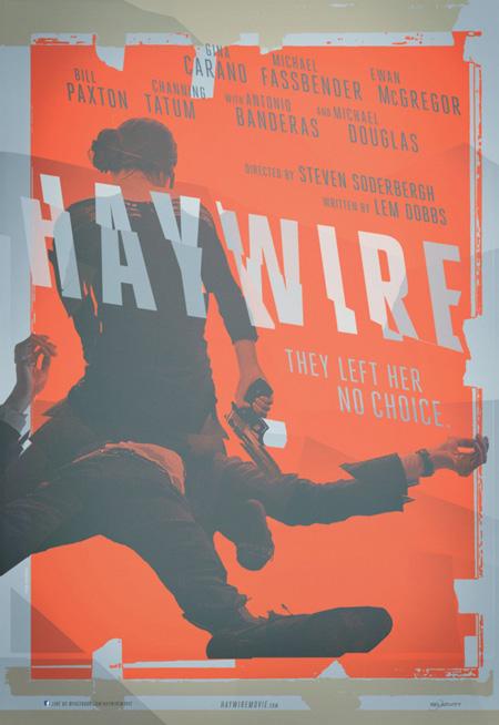 Primer cartel de Haywire para la Comic-Con de San Diego 2011
