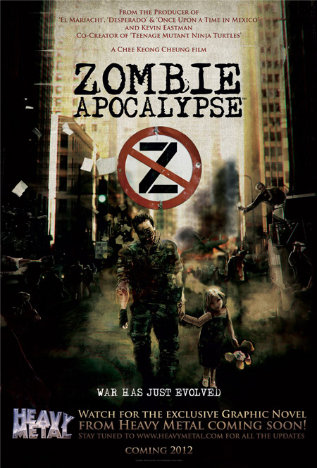 Cartel de Zombie Apocalypse
