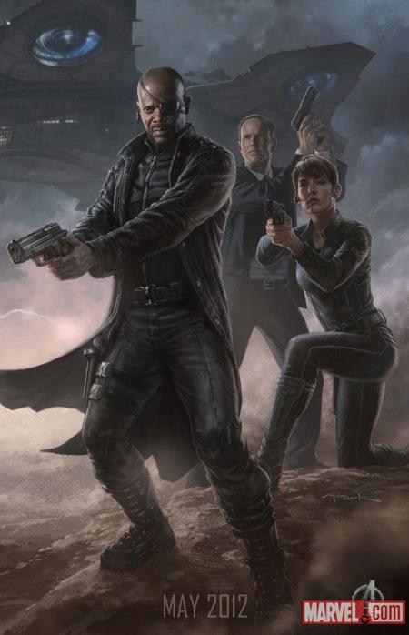 Cartel promo de The Avengers: Nick Fury