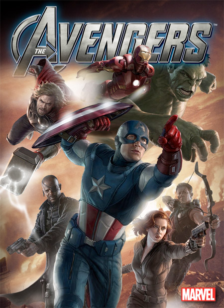 Póster fan made de The Avengers usando los carteles vistos en la Comic-Con
