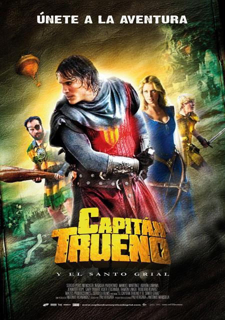 Nuevo póster de Capitán Trueno y el Santo Grial