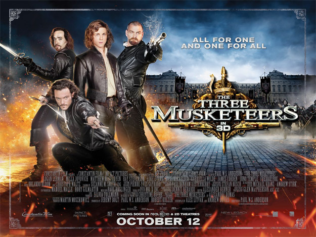 Otro cartel más de The Three Musketeers