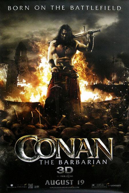 Un nuevo cartel molón de Conan el bárbaro