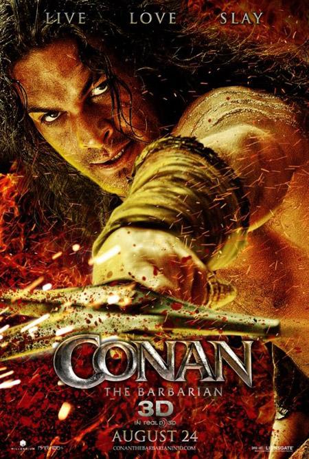 Un nuevo cartel de Conan el bárbaro