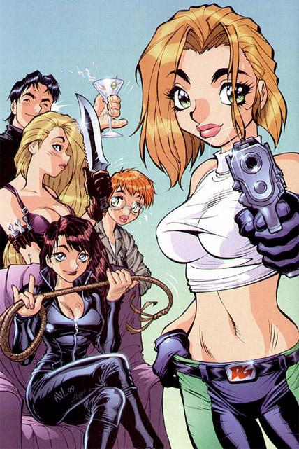 Las Danger Girl, no tan explosivas como suelen verse pero bajo la mano de Adam Warren