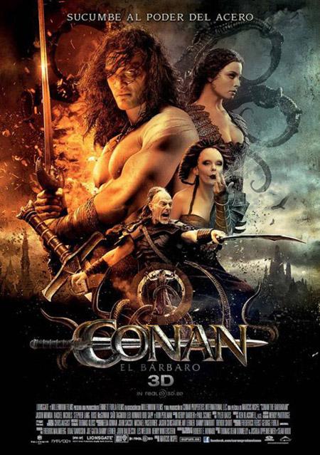 Cartel español de Conan el bárbaro