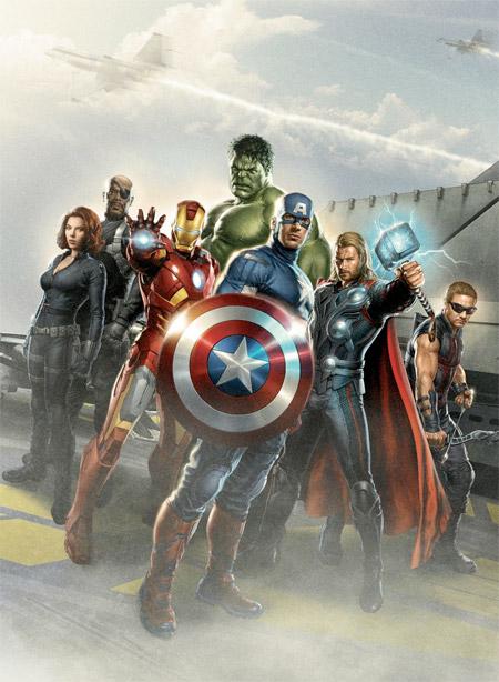 Imagen promo de Los Vengadores ahora en buena calidad