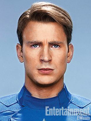 Fotos de carnet de el Capitán América e Iron Man