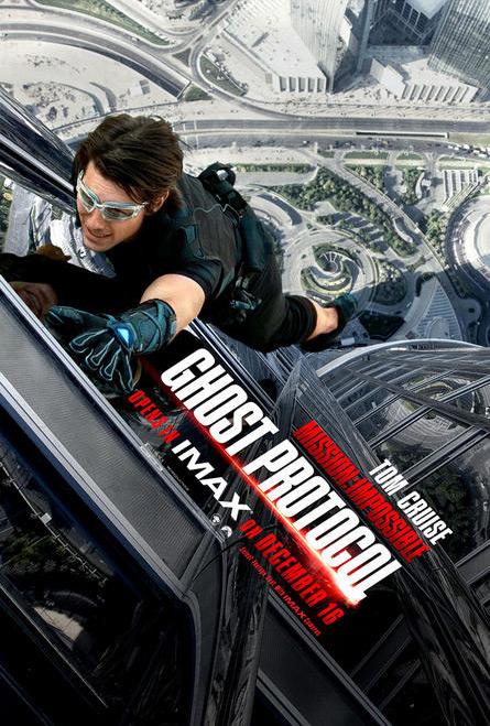 Nuevo cartel de Misión imposible: protocolo fantasma