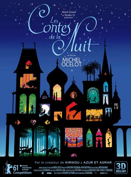 Cartel de Les Contes de la Nuit