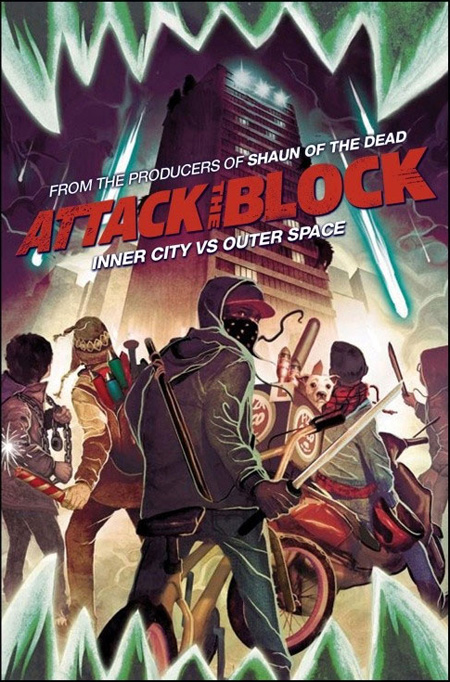 Cartel especial de Attack the Block que se regalará en la NYCC