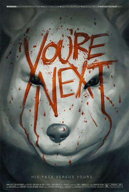 Interesante cartel de You're Next