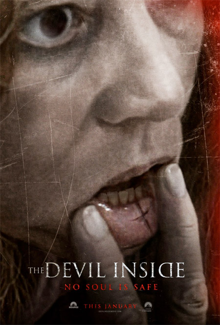 Primer cartel de The Devil Inside