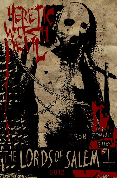 Nuevo grotesco teaser poster de The Lords of Salem de Rob Zombie
