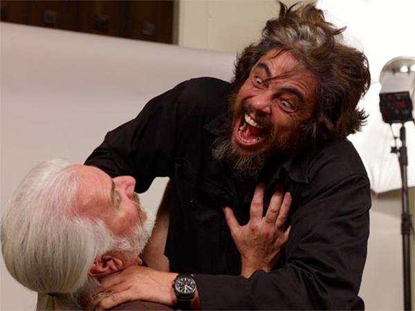 Reacción de Benicio del Toro cuando ha leído la noticia