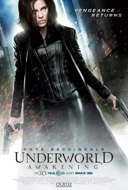 Nuevo cartel de Underworld: el despertar
