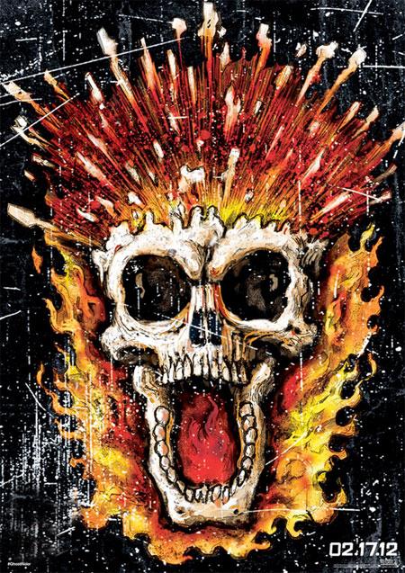 Nuevo cartel de Ghost Rider: Spirit of Vegeance