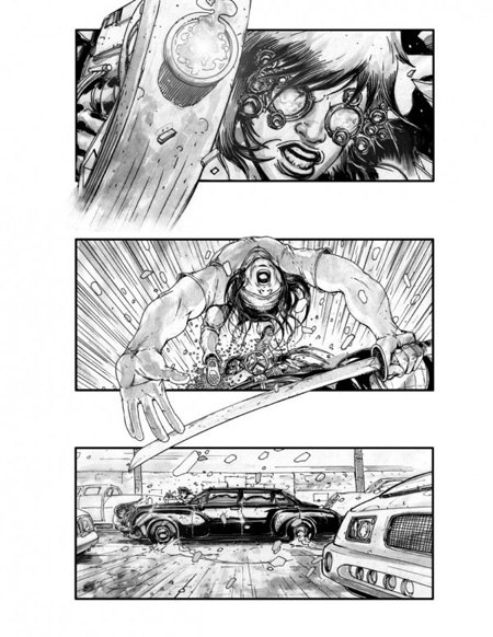 Storyboard de Neuromancer (2º)