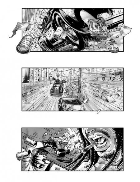 Storyboard de Neuromancer (4º)