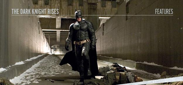 Batman hace frente a los restos del paso de Bane