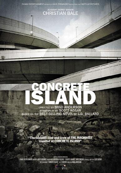 Póster promocional de Concrete Island de Brad Anderson