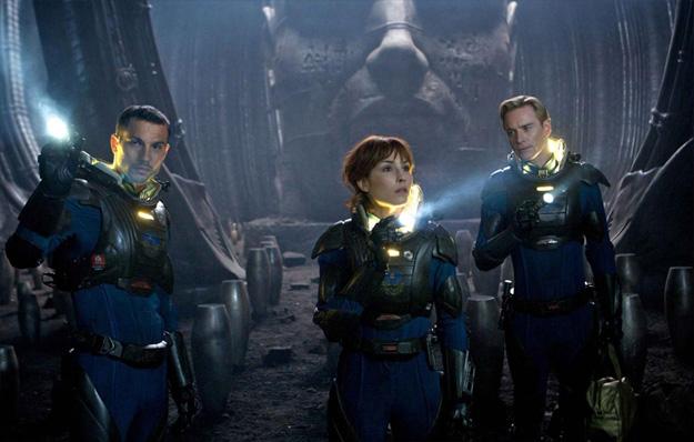 Logan Marshall-Green, Noomi Rapace y Michael Fassbender exploran un planeta en los confines más oscuros del universo