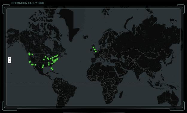 Cines del mundo donde se verá el prólogo... pulsad para ampliar España