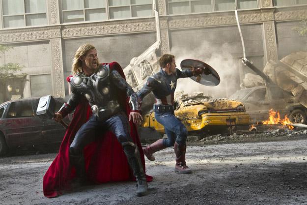 Otra imagen más de Los Vengadores