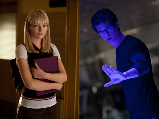 Gwen Stacy y Peter Parker