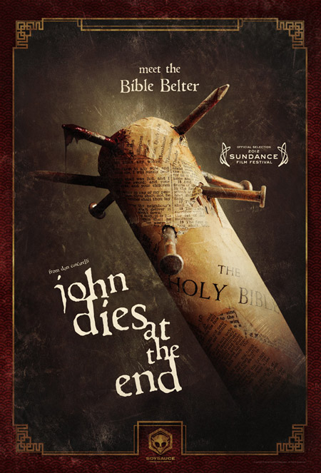 Fabuloso nuevo cartel de John Dies at the End de Don Coscarelli