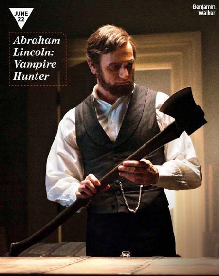 Primer generoso vistazo a Benjamin Walker como el presidente en Abraham Lincoln: Vampire Hunter