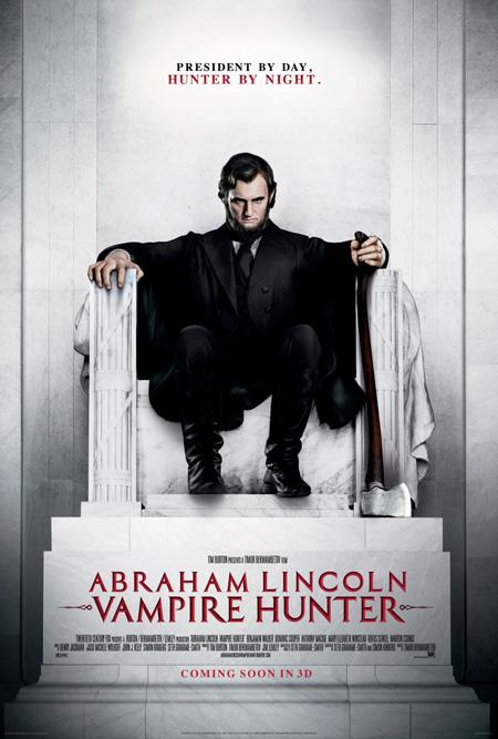 Nuevo póster de Abraham Lincoln: Vampire Hunter