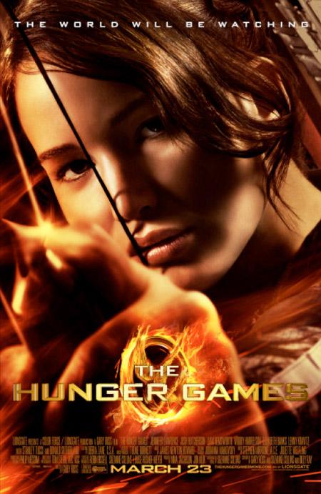 Nuevo cartel de Los juegos del hambre... ¿no se ve un pelín borroso?