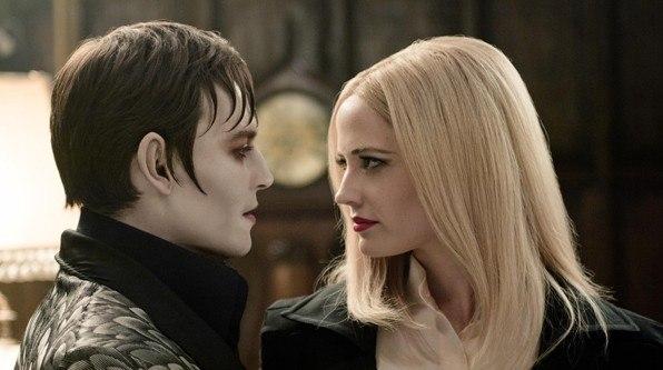 Nueva imagen de Dark Shadows con Johnny Depp y Eva Green