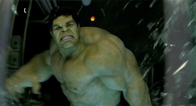 Hulk a la Mark Ruffalo
