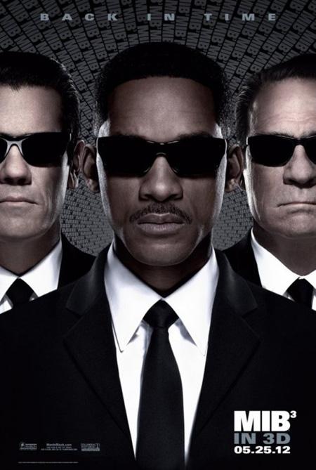El nuevo cartel de Men in Black 3