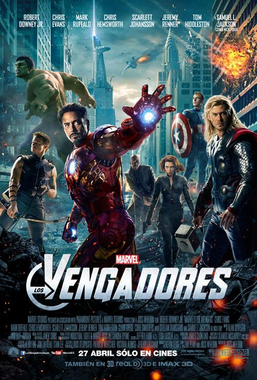El último cartel de Los Vengadores