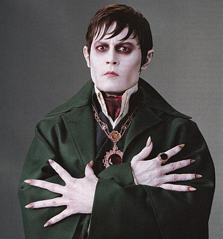 Nuevo vistazo a Johnny Depp como Barnabas Collins en Dark Shadows