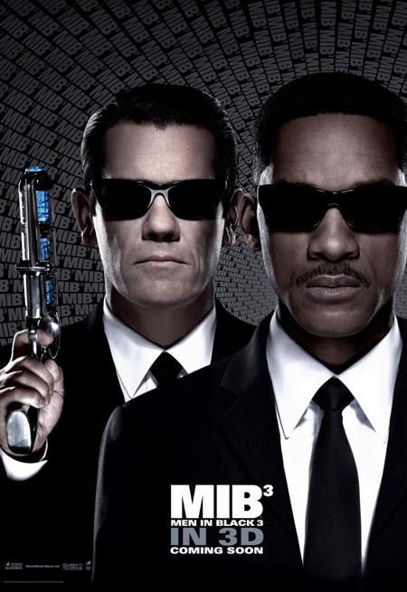 Los nuevos carteles de Hombre de Negro 3... pasar por encima para descubrir la otra versión