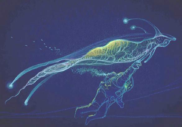 Diseño de Moebius para Abyss