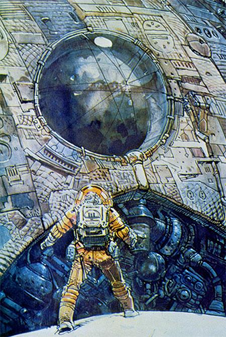 Diseño de Moebius para Alien