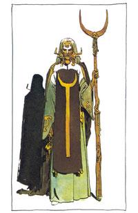 Reverenda Madre Gaius Helen Mohiam (una Bene Gesserit)