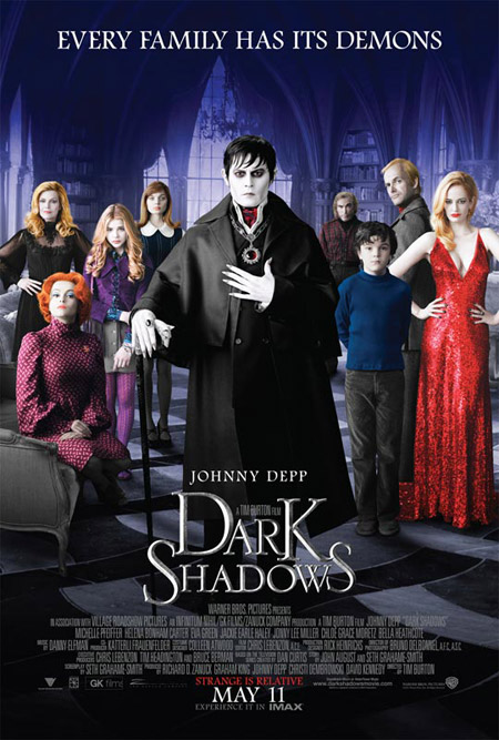 Primer cartel oficial para Dark Shadows