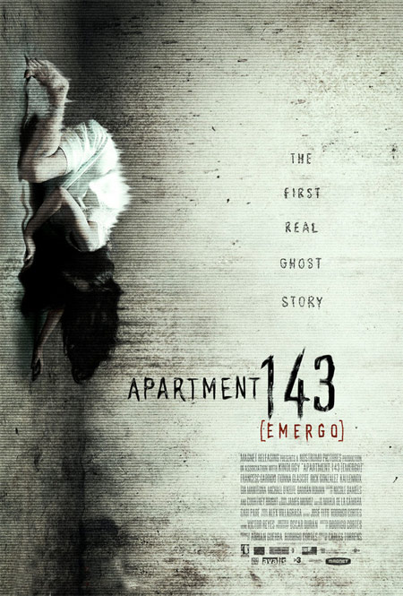 Primer cartel de Apartment 143, originalmente Emergo