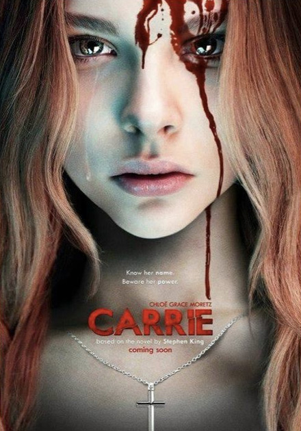 Sorprendente cartel fan made para Carrie