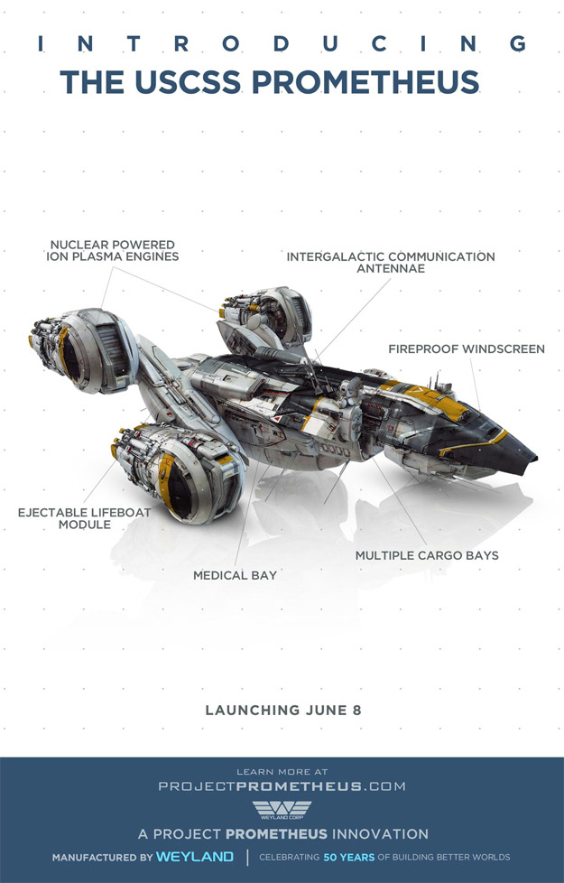 Conozcamos a la USCSS Prometheus