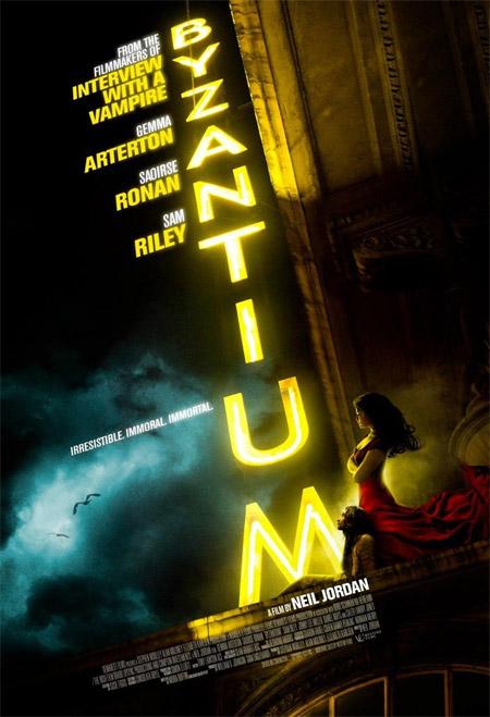 Primer cartel del film vampírico Byzantium