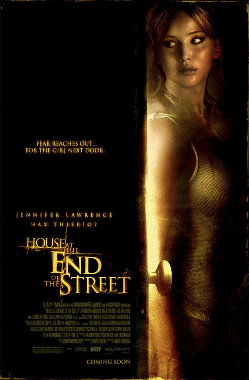 Nuevo cartel de House at the End of the Street