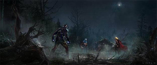 Concept Art de Los Vengadores